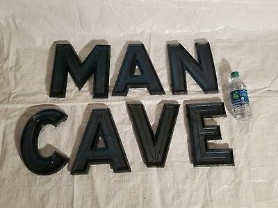 "Antique 10"" Green Marquee Letters"