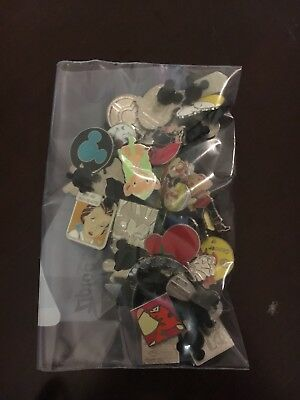 Disney Pin Trading Lot of 30 Assorted Pins - No Doubles - Tradable