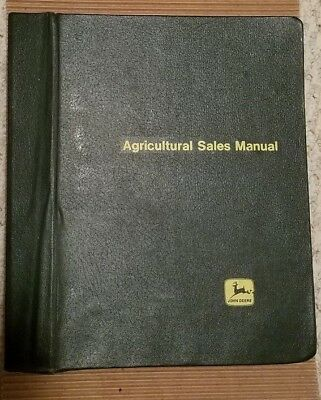 John Deere Agricultural Sales Manual, Aug 2001 Revision