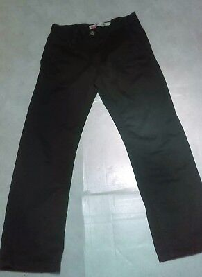 Levis 505 Boy's Youth Straight Leg Dark Green Pants Sz 12 26X26 New without tag