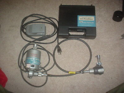 Engis Electrically Operated Di-Profiler w/ Motor & Foot Speed Control EXCELLENT