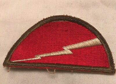 Vintage WWII US Army 78th Infantry Division SSI Patch LIGHTNING Bolt WW2 WW 2