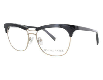 5ed9ee21c15 NEW KENDALL   Kylie KKO115 301 46mm Olive Silver Optical Eyeglasses ...