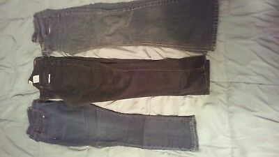 size 9/10 womens jean lot Levi and Angels brand