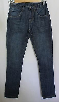 FOX & FINCH ~ Kids Unisex Medium Blue Skinny Leg Jeans NWT 10 RRP $69.95