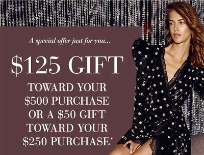 SAKS FIFTH AVENUE Coupon $125 off $500 Online BEAUTY INCLUDED Code Only EXP 6/4