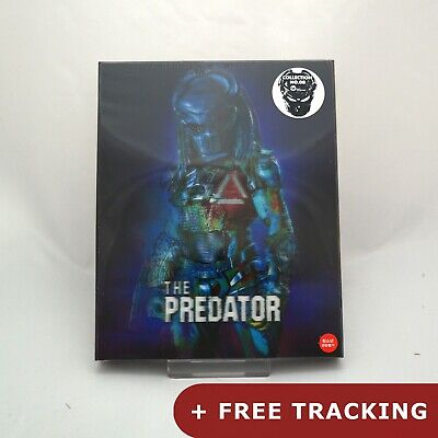 The Predator - Blu-ray Steelbook Lenticular Case Edition (2018) / WeET