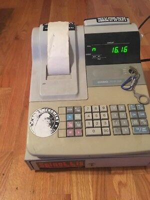 Casio PCR-308 Personal Cash Register DL-1309 - Used Condition - Needs Work