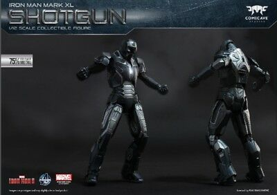Shotgun Iron Man Mark 40 XL 1:12 Scale Figure by Comicave Studios Avengers NEW