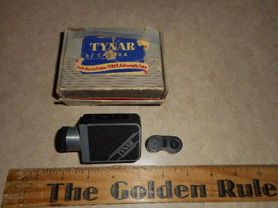 1949 TYNAR Vintage Subminiature Spy Camera Original Box And A 16MM Firm Canster