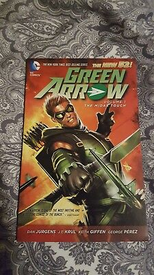 DC New 52 TPB Graphic Novel Green Arrow: The Midas Touch Vol. 1