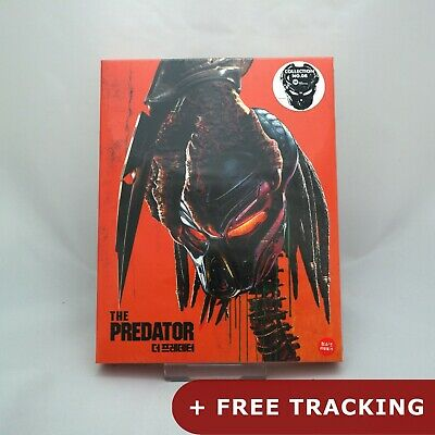 The Predator - Blu-ray Steelbook Full Slip Case Edition (2018) / WeET