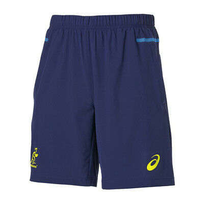 "Wallabies 2015 9"" Woven Gym Shorts Sizes S - 4XL **SALE PRICE**"