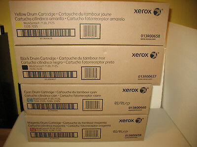 Workcentre 7120 7220  XEROX 013R00657, 013R00658, 013R00659, 013R00660 KYMC SET