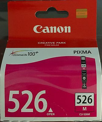 Canon Cli - 526M  Genuine  Cartridges Made In Japan     New & Sealed