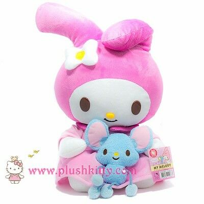 Sanrio My Melody 12 Plush with mouse Plush Doll