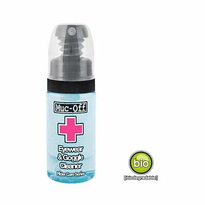 Muc-Off 257 Eyewear & Goggle Cleaner Brillen Visier Reiniger 35 ml