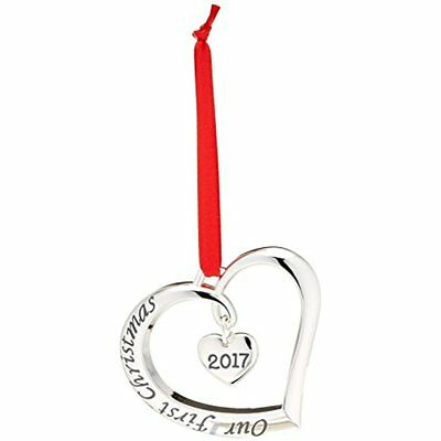 Lenox 2017 Our 1st Christmas Ornament