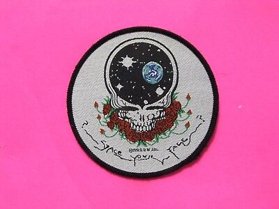 Grateful Dead Official 1991 Vintage Patch Uk Import Not Shirt Pin Button Sew-On