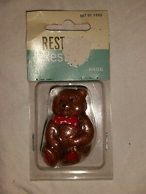 Teddy Bear Dresser Kitchen Bathroom Drawer Knobs NIP