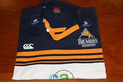 Brumbies Act Rugby Jersey,canterbury, Size L