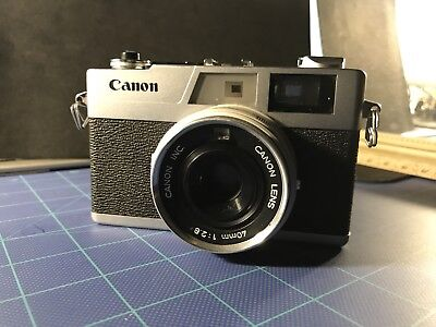 CANON CANONET 28 I F2.8 40mm Lens - Film Tested