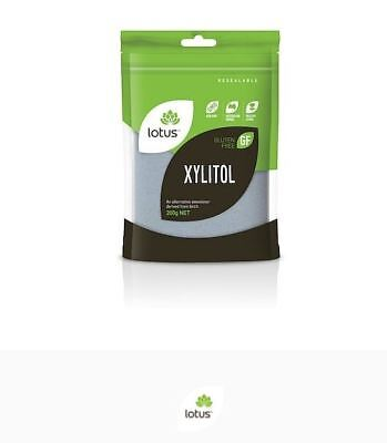 3 x 200g LOTUS Xylitol Powder ( Total 600g )
