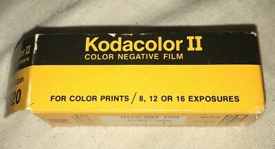 KODAK KODACOLOR II FILM C 620 VINTAGE FILM SEALED EXP. April 1981