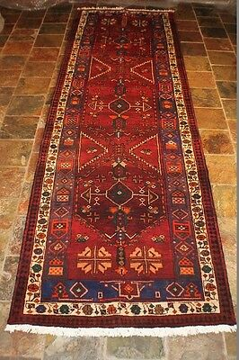 """Authentic Persian rugs"" 404x118 ABRASH ALLOVER Bakhtiari tribal Persian rug"