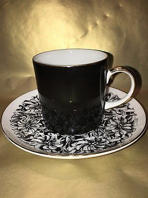 VINTAGE CUP SAUCER WESTMINSTER 1960s Mid Century Modern Australian made