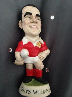 Rhys Williams - Welsh Rugby Player - Mini Grogg