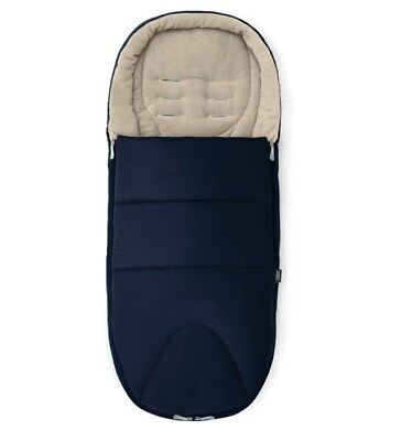 Mamas and Papas M&P Navy Blue Cold Weather PLUS Universal Footmuff Cosytoes