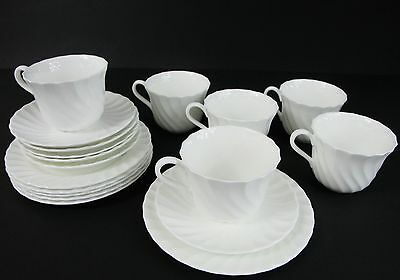 1 Wedgwood Candlelight Trio 1st Quality Cup Saucer Side Plate (more available)