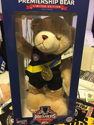 2017 Premiership Bear Limited Edition of 1000 Richmond Tigers