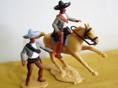 Timpo Wild West - 2 Mexicans - With Bandoleer Colour Variant