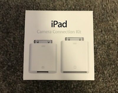 Genuine Apple iPad camera connection kit - Brand new!