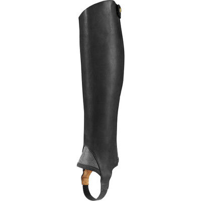 Ariat Close Contact Half Womens Footwear Chaps - Waxed Black All Sizes
