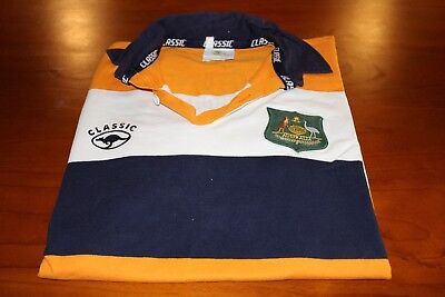 Australian Classic Rugby Supporters Jersey, Size Xl