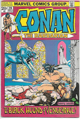 Conan the Barbarian #20 (Marvel 1972 vf- 7.5) Barry Smith (Guide $33.00/£26)