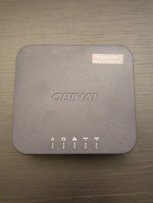 OBi202 VoIP Telephone Adapter with 2 Phone Ports, Router and USB