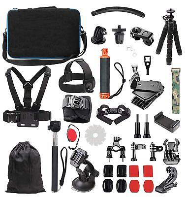 GoPro Hero 7 White Silver Black 6 5 4 Sports Action Camera Accessories Kit 2018