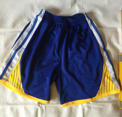 Basketball Hose / Shorts Golden State Warriors Jungen Größe S