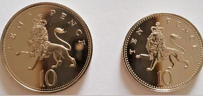 1983 - 2008 Royal Mint Crowned Lion Ten pence 10p coin Brilliant Uncirculated UK
