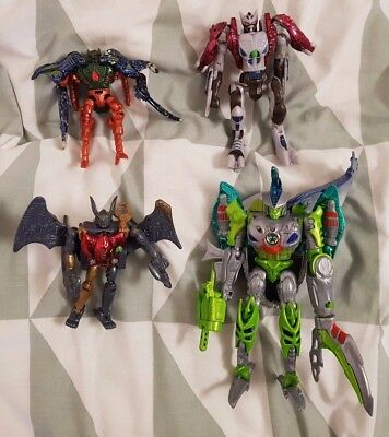 Beast Wars Transformers Transmetals Assorted Figures Incomplete/Damaged