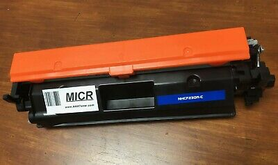 """MICR Toner Cartridge"" for Check Print CF230A HP LaserJet Pro M203dw, M227fdw"