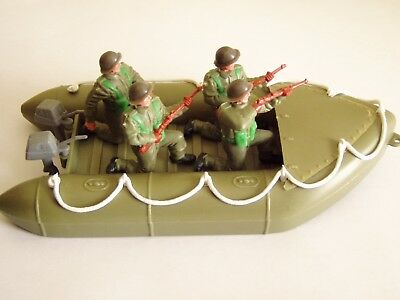 Timpo Modern Army Assault Craft With 4 British Soldiers Ref. No.1020