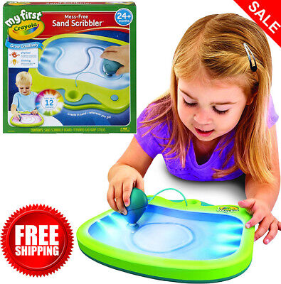 My First Crayola Mess-Free Sand Scribbler Art Activity Perfect Gift No Mess
