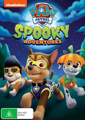 Paw Patrol Spooky Adventures DVD R4 New!