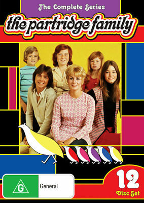 The Partridge Family (12 Discs) The Complete Series Box Set DVD R4 New!! *
