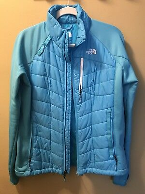 The North Face summit series down/fleece Blue womens Size Large RECCO ski/board